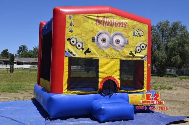 Minions Large Bounce House