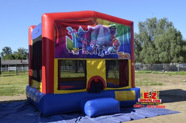 Trolls Large Bounce House