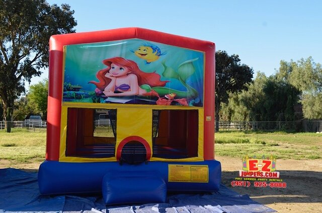 Ariel / Little Mermaid 1 Large Bounce House