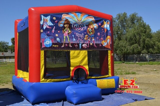 It's a Girl Thing - Medium Bounce House