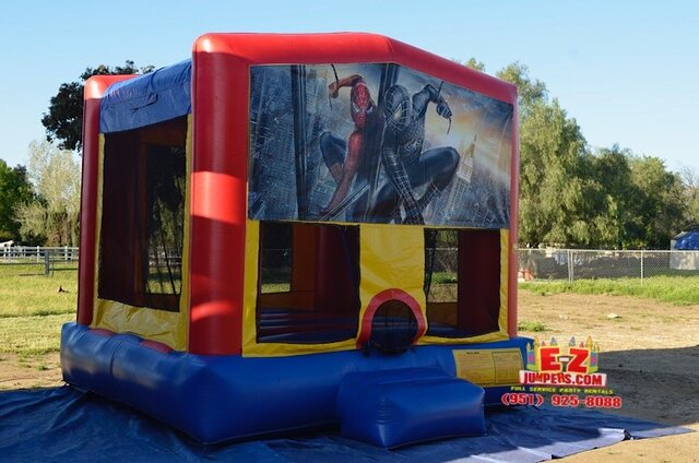 Spiderman Large Bounce House