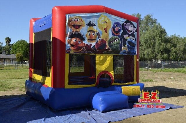 Sesame Street Large Bounce House