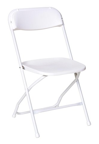 White Foldable Chairs