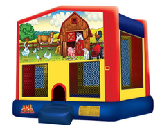 Animal Farm Medium Bounce House