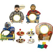 Set of Sports Bean Bag Toss and Sports Ring Toss Games