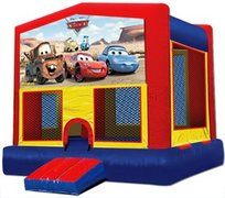Cars - Large Bounce House