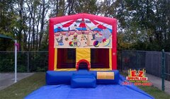 Circus Large Bounce House