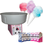 Cotton Candy Machine with supplies for 60 Servings