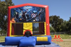 Avengers Medium Bounce House
