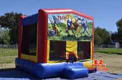 Football Large Bounce House