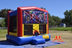 Super Heroes Large Bounce House