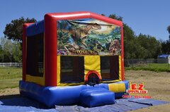 Dinosaurs Medium Bounce House