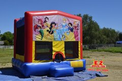 Princess Large Bounce House