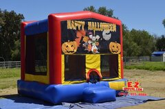 Halloween - Pumpkins Medium Bounce House