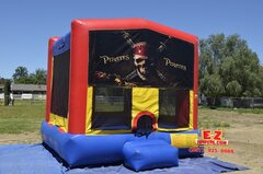 Pirates Large Bounce House