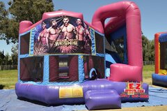 Wrestling Large HOT PINK Interactive 5in1 Combo