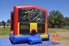 Ninja Turtles Large Bounce House