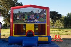 Minecraft Large Bounce House
