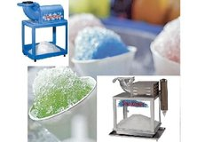 Snow Cone Machine (With Syrup + 30 cones & Straws)