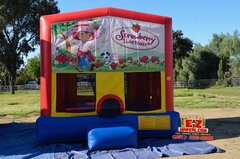 Strawberry Shortcake Large Bounce House
