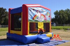 Unicorn Large Bounce House