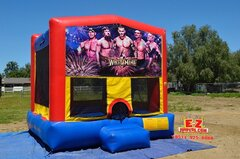 Wrestling Large Bounce House
