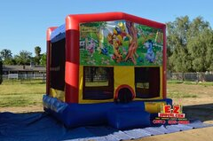 Winnie the Pooh Large Bounce House