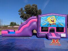 SpongeBob - Pink & Purple Jumper Slide 5in1