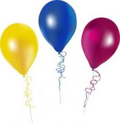 "11"" Latex Helium Balloon"