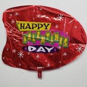 Mylar Helium Inflate for Customer