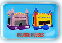 Bounce houses with themes