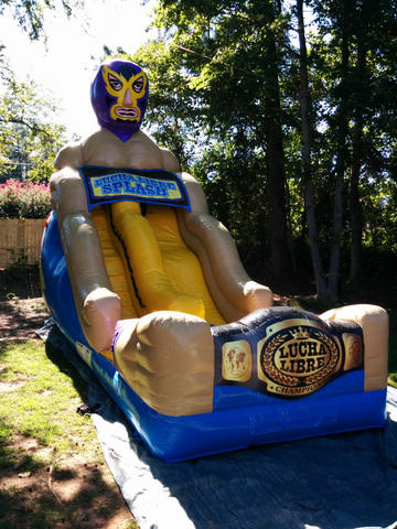 18 foot Lucha Libre Slide - Dry