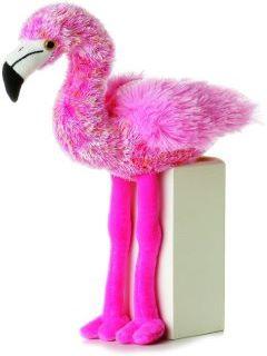 Flavia the plush flamingo
