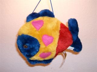 Frankie the plush fish