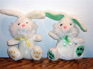 Ricky the plush bunny rabbit