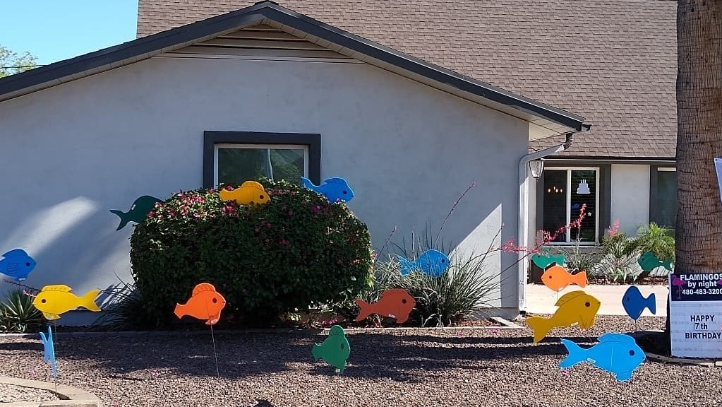 turtles yard decorations