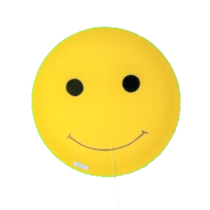 adopt a smiley faces or a whole display to keep and reuse