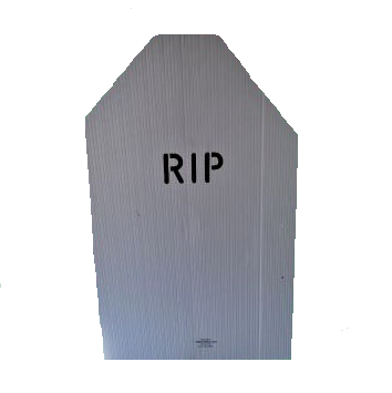 adopt a tombstone or a graveyard