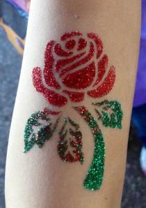 Glitter Tattoo service