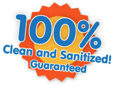 we clean and sanitize our equipment