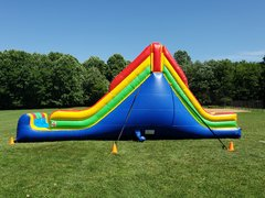 16ft Dual Lane Dry Slide