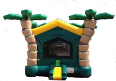 3D Palm Tree Bounce House