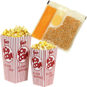 Pop Corn Supplies (100 servings)
