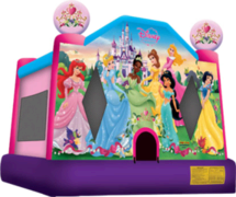 <font color=blue><b>Disney Princess Bounce House</b></font color=blue><br>