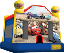 <font color=blue><b>Cars Bounce House</b></font color=blue><br>