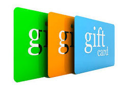 Gift Cards $25 (Increment)
