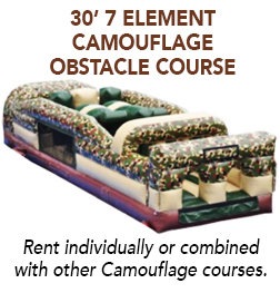 30' 7 Elements Camo Obstacle Course