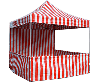 Carnival Tents Red & White