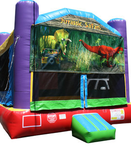 Jurassic Safari Bounce House