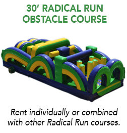 30' Radical Run Obstacle Course